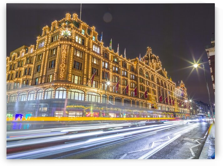 Harrods, London by Assaf Frank