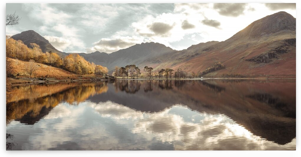Still Lake, Buttermere, Lake District by Assaf Frank