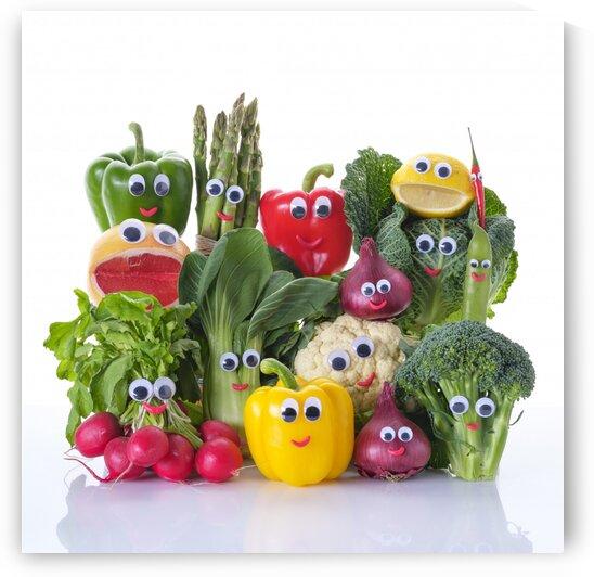 Funny mIx vegetables by Assaf Frank