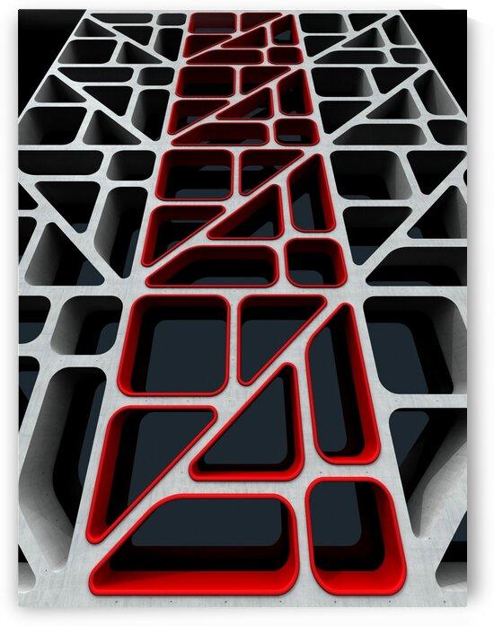 Geometric Windows by Wagner Hardt