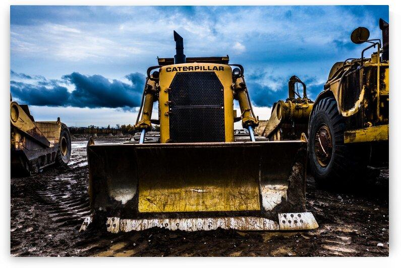 Dirty Old Dozer by Chris Dickey