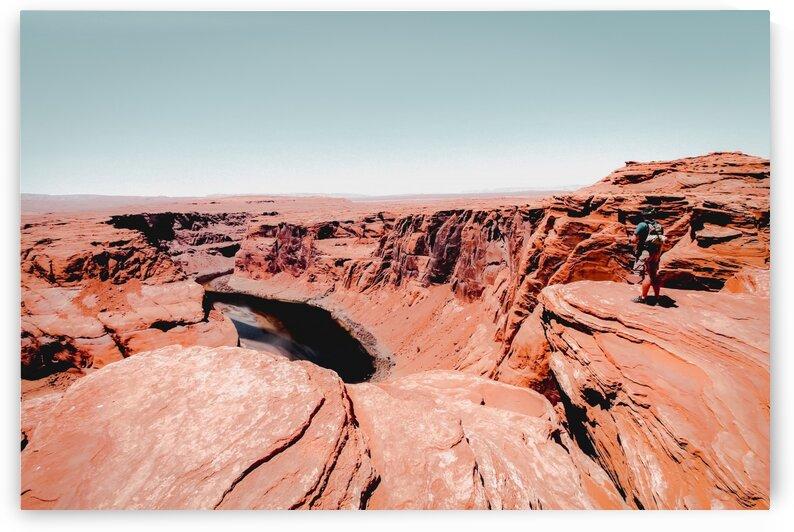 Summer scenery in the desert at Horseshoe Bend Arizona USA by TimmyLA