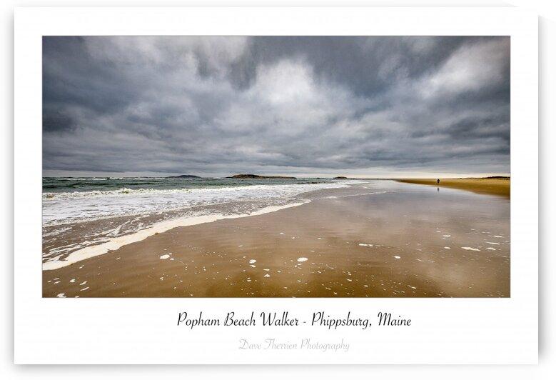Popham Beach Walker by Dave Therrien