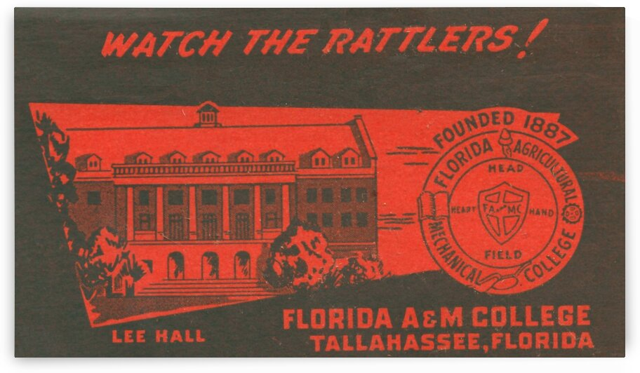 1950 Florida A&M by Row One Brand
