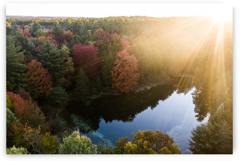 Pondly Sunrises by Chris Dickey