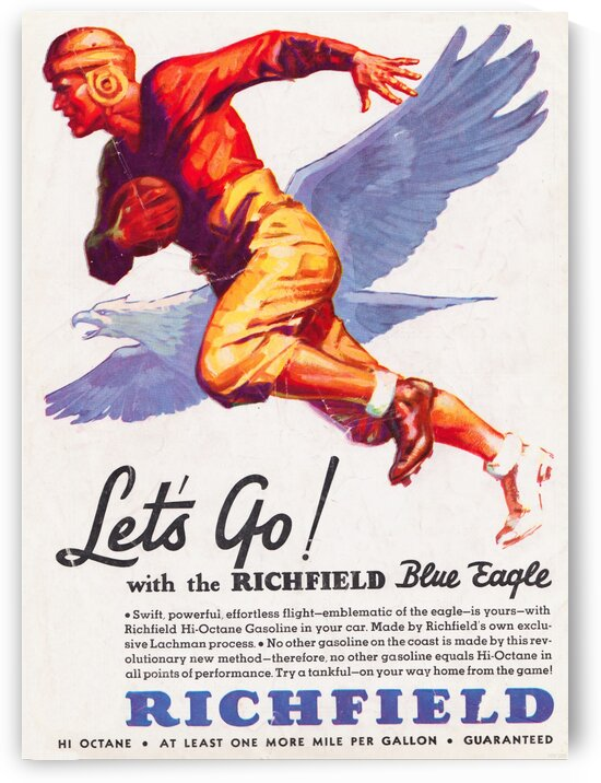 1933 Richfield Gasoline Ad by Row One Brand