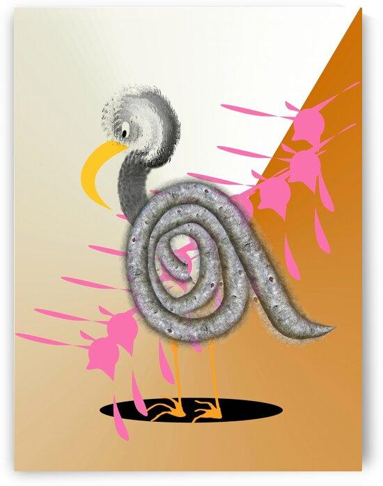 Oiseau Bird 5 by Createm