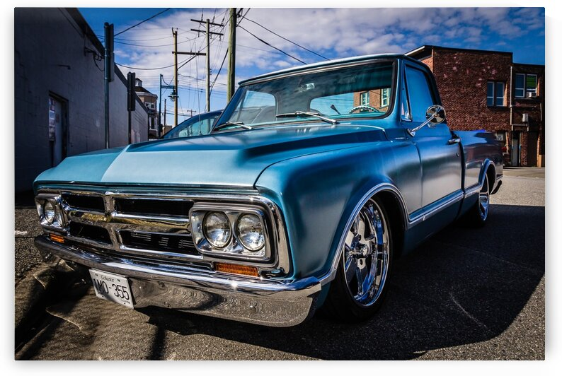 Dodge Pickup Truck from the 70s by bj clayden photography