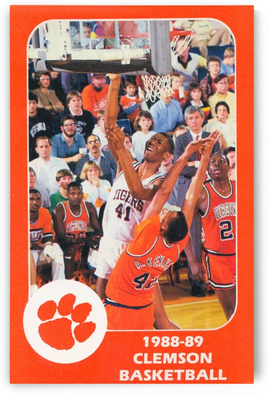 1988 Clemson Tigers Eldon Campbell by Row One Brand
