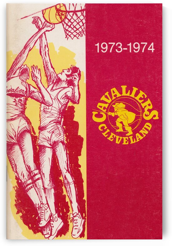 1973 Cleveland Cavaliers  by Row One Brand
