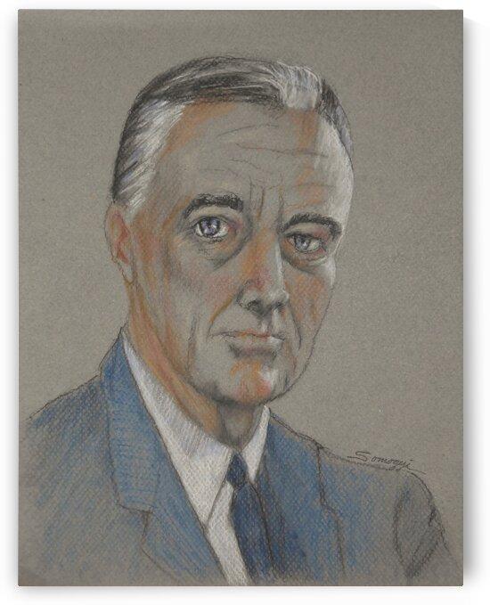 Franklin D. Roosevelt by Jayne Somogy