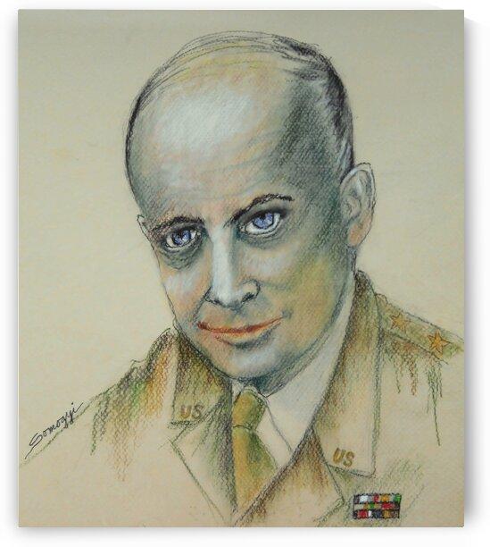 Dwight D. Eisenhower by Jayne Somogy