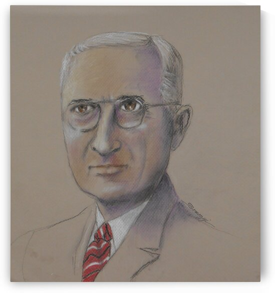 Harry S. Truman by Jayne Somogy