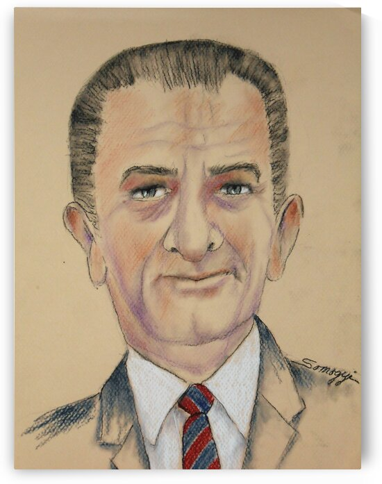 Lyndon B. Johnson by Jayne Somogy