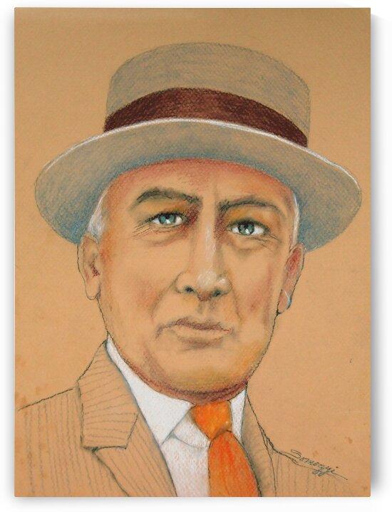 Warren G. Harding by Jayne Somogy