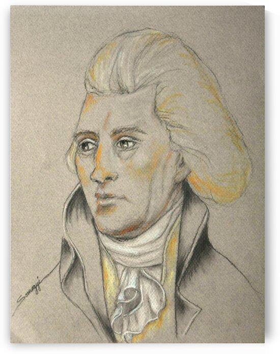 Thomas Jefferson by Jayne Somogy