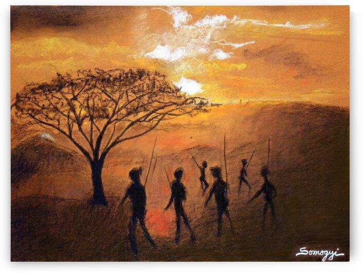 Serengeti Sunset by Jayne Somogy