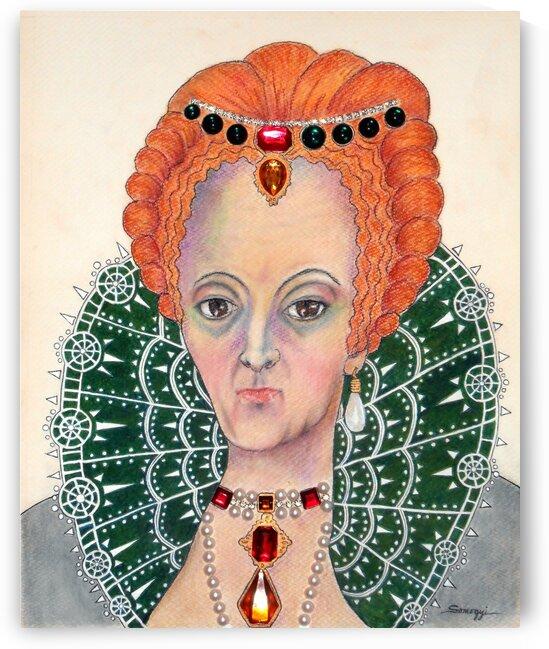 Queen Elizabeth I by Jayne Somogy