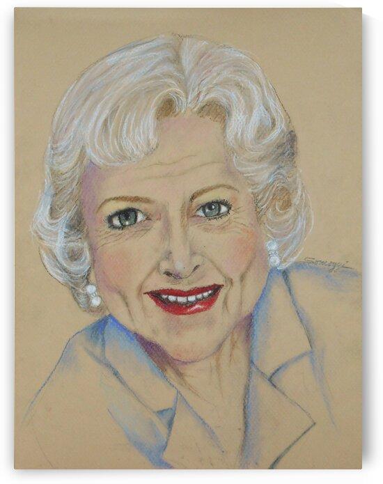 Betty White by Jayne Somogy
