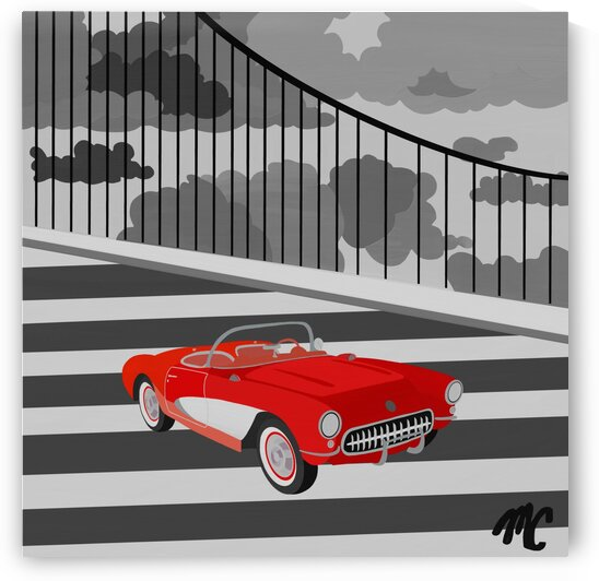 1957 Corvette by Mike Coble