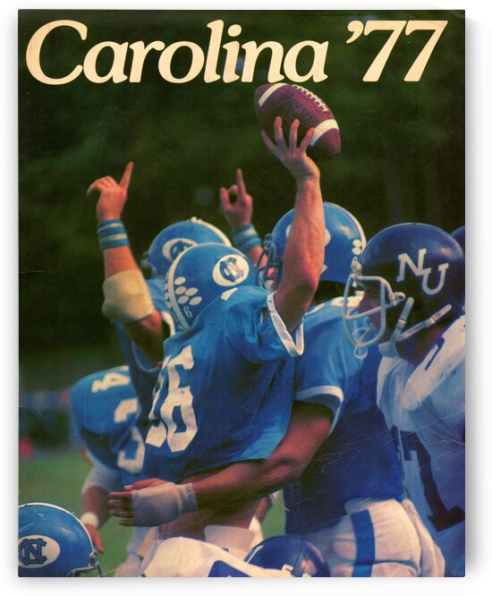 1977 Carolina Football by Row One Brand