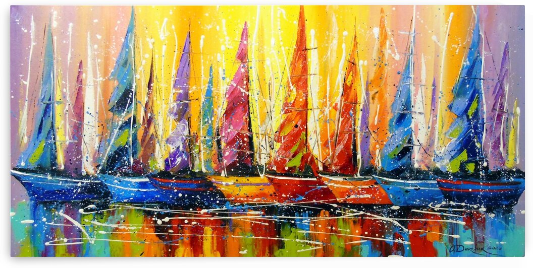 Bright sails by Olha Darchuk