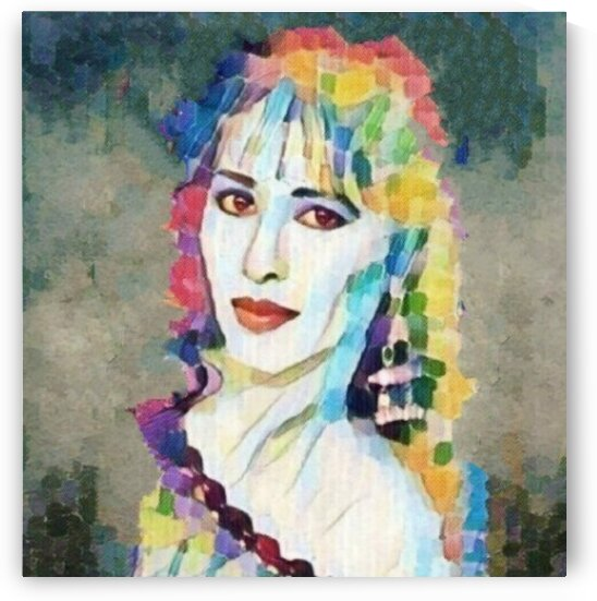 Ofra Haza Inspired Art painting    by Smithson
