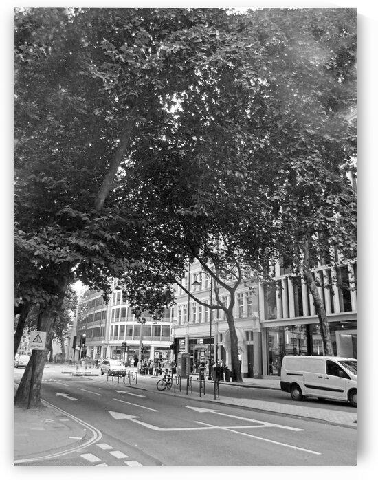 Streets of London B&W by Gods Eye Candy
