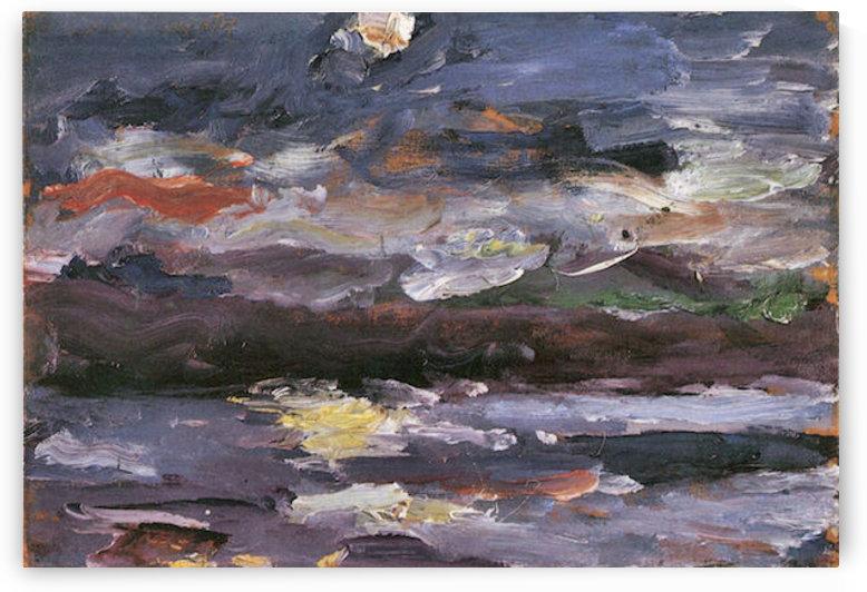 Moonlight by Lovis Corinth by Lovis Corinth