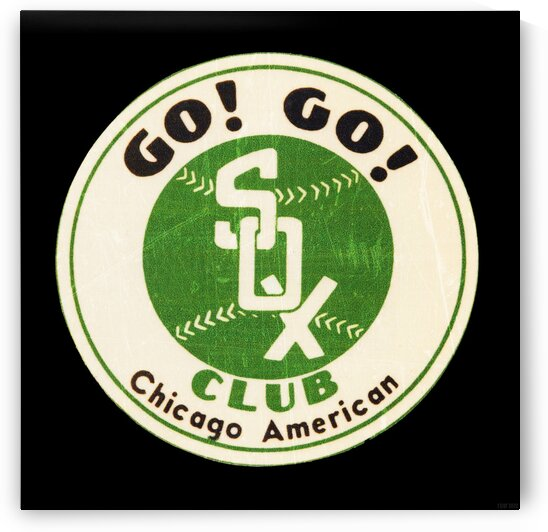 Vintage Chicago White Sox Art by Row One Brand
