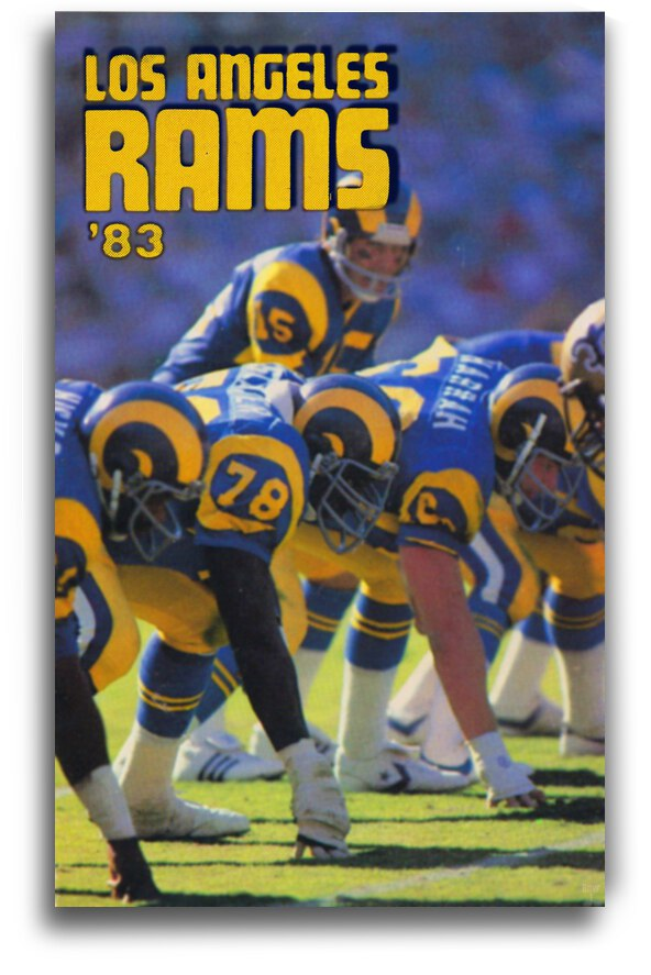 1983 Los Angeles Rams by Row One Brand
