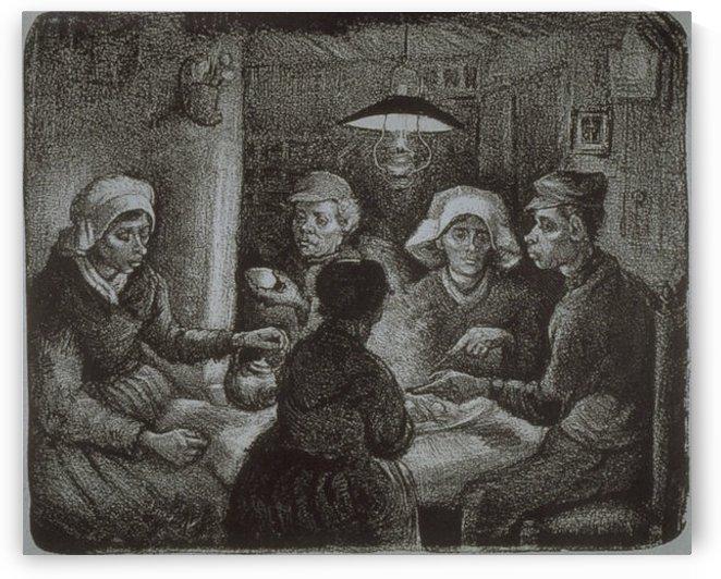 Potato Eaters by Van Gogh by Van Gogh