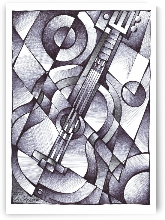 Guitar by Andrey Saratov