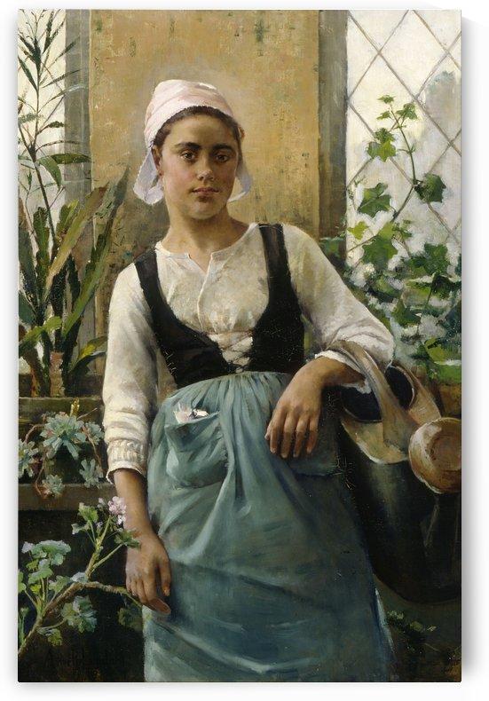 The Garden Girl by Amelie Helga Lundahl