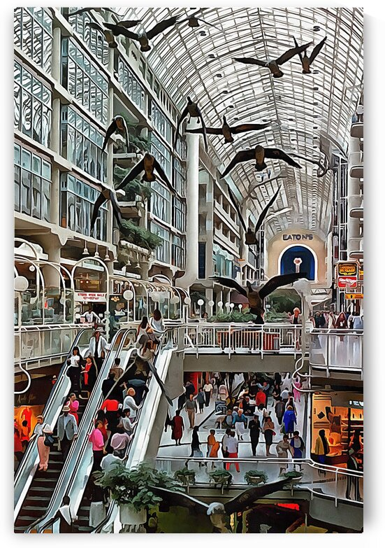 Eaton Shopping Centre Toronto by Dorothy Berry-Lound