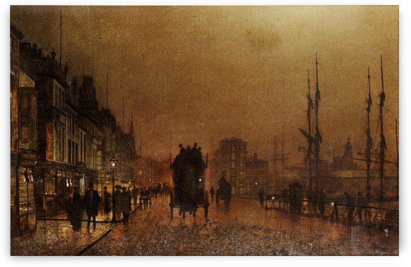 The Broomielaw Glasgow by John Atkinson Grimshaw