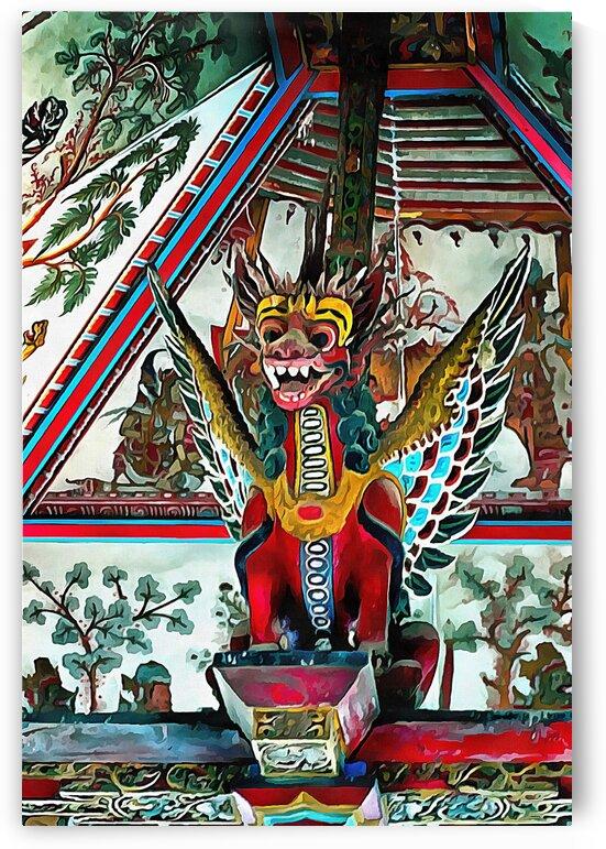 Garuda Statue Bali by Dorothy Berry-Lound