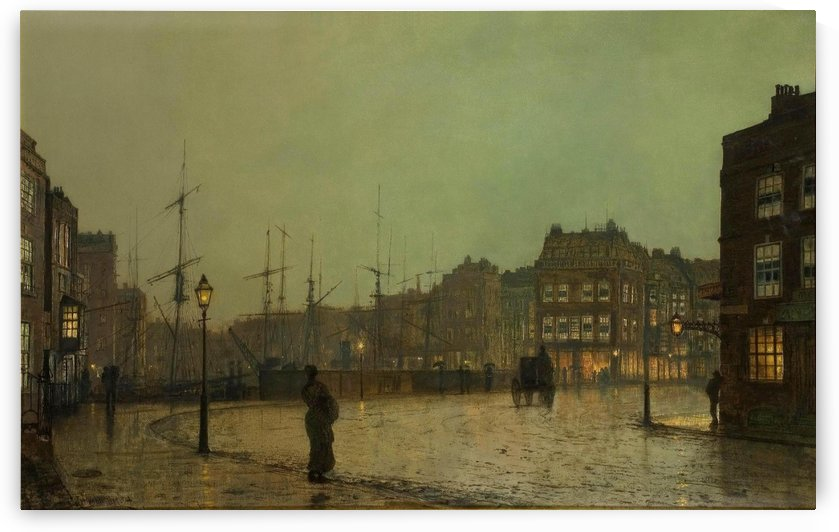 Greenock, 1881 by John Atkinson Grimshaw