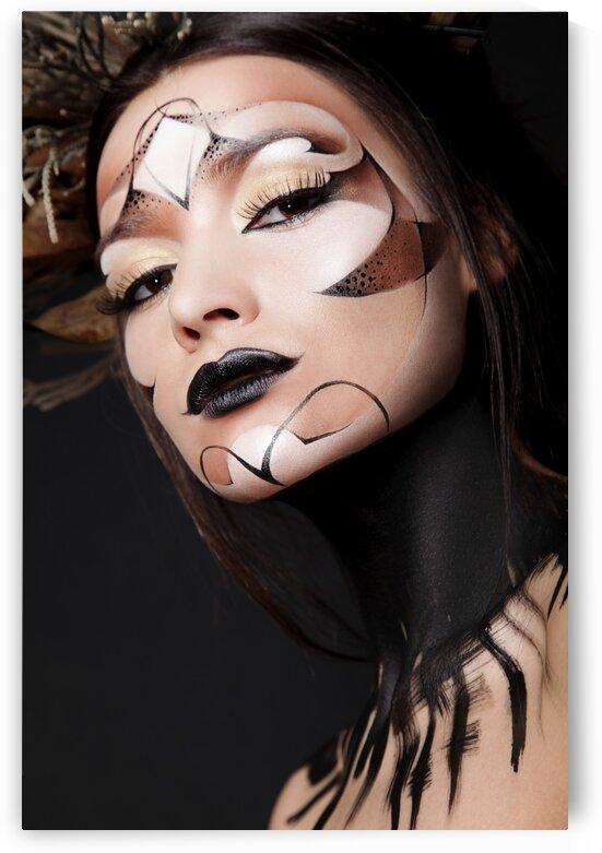 face art by Dmitro Inozemtsev
