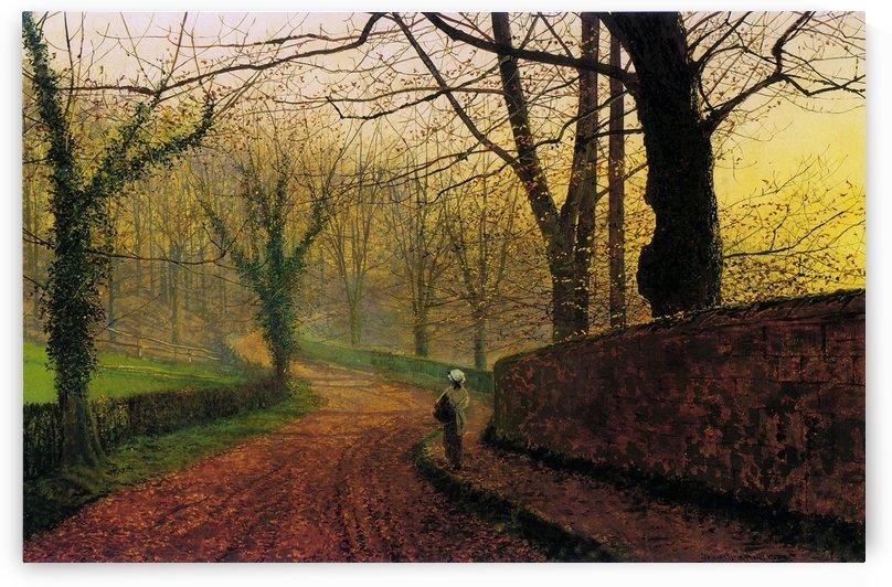 Stapleton Park near Pontefract Sun by John Atkinson Grimshaw