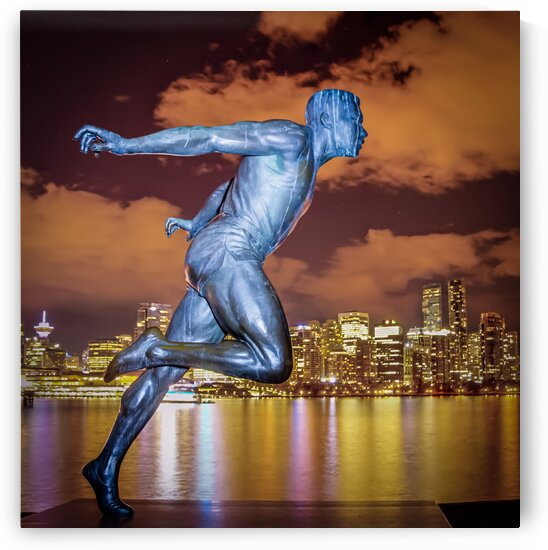Harry Jerome Monument Vancouver by bj clayden photography