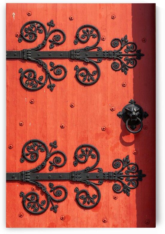 The Red Door by bj clayden photography