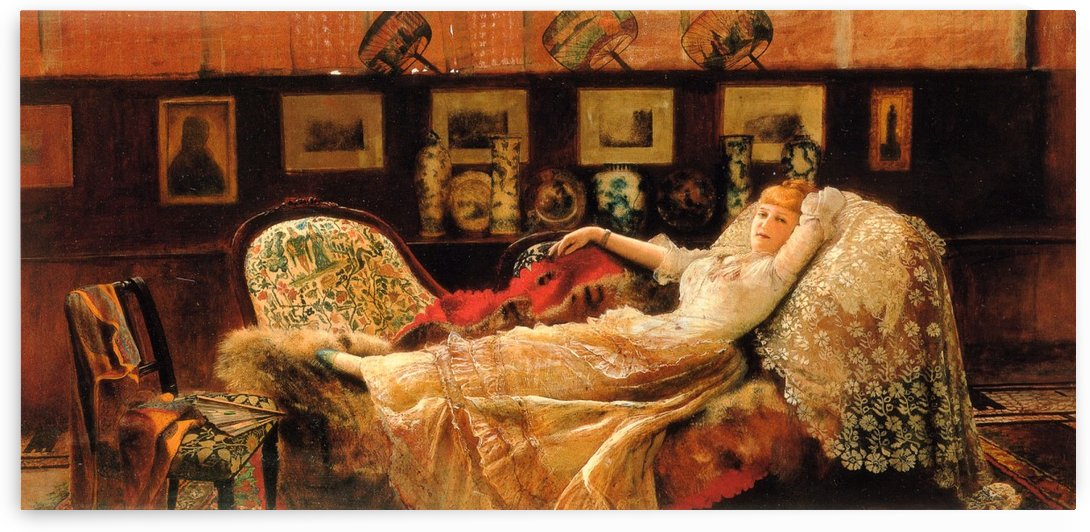 Day Dreams by John Atkinson Grimshaw