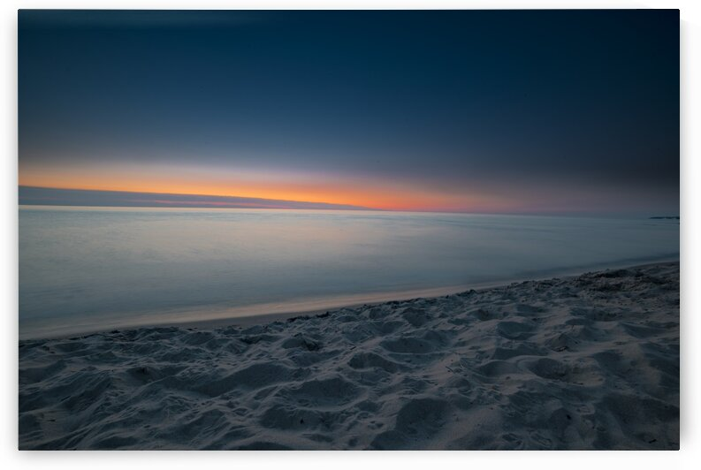 MI Sunset by James W Gray