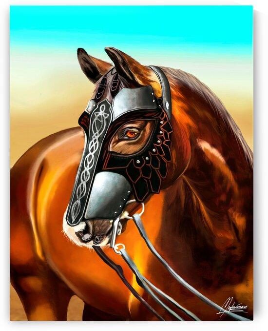 Le Grand Cheval de Saladin by Mayka ienova