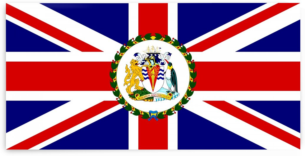 British Antarctic Territory Commisioner Flag by Fun With Flags