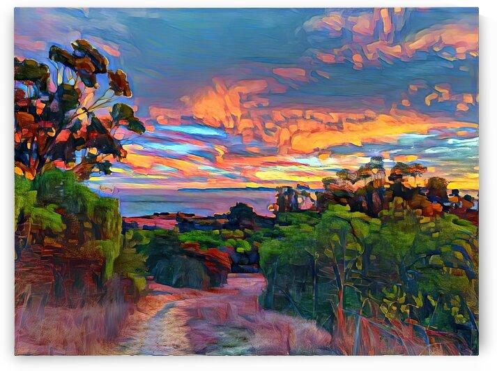 Sunset sky by Dionyziuz