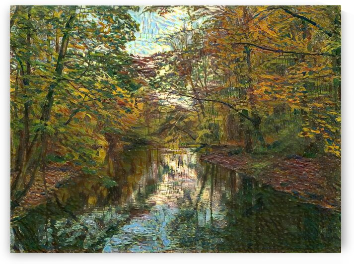 Autumn forrest by Dionyziuz