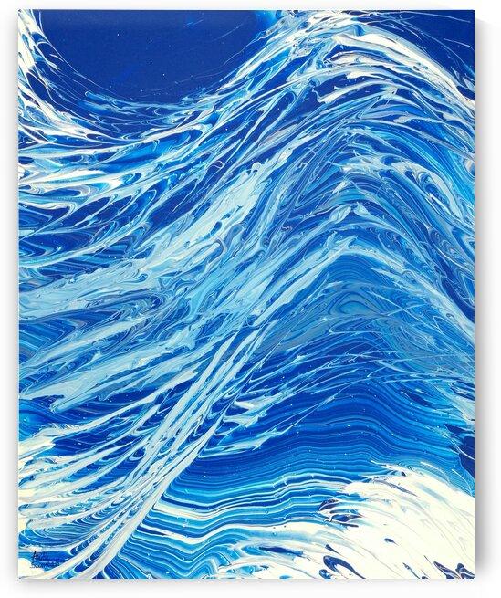 The Wave by Anita Szombati by Anita Szombati
