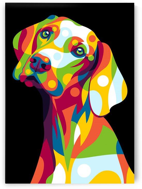 The Dog Portrait by wpaprint